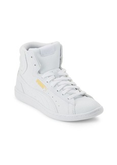 Puma Vikky Striped High-Top Sneakers