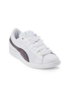 Puma Vikky Textured Low-Top Sneakers