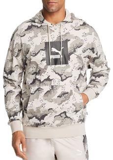 PUMA Wild Pack Leopard Camouflage-Print Hooded Sweatshirt