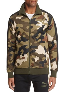 PUMA Wild T7 Camouflage-Print Track Jacket