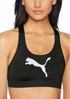 PUMA Women's 4KEEPS Bra Bra puma Black/cat XL