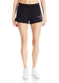 Puma Women's Active Ess Shorts W Cotton black S