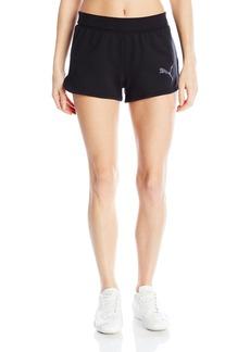 Puma Women's Active Ess Shorts W Cotton black XL