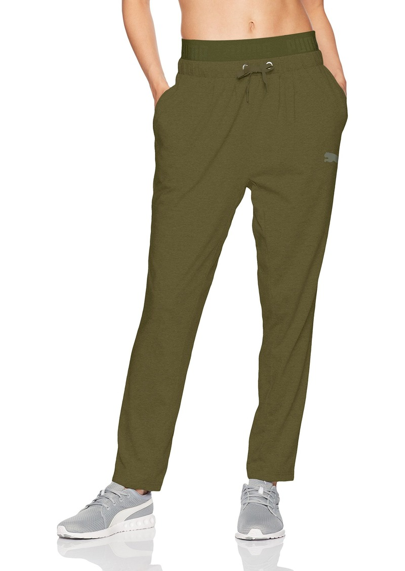 PUMA Women's Active Essential Banded Drapey Pant  S