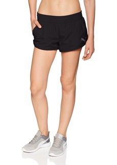 PUMA Women's Active Essential Woven Shorts Black A M