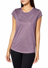 PUMA Women's Active Heather T-Shirt  S
