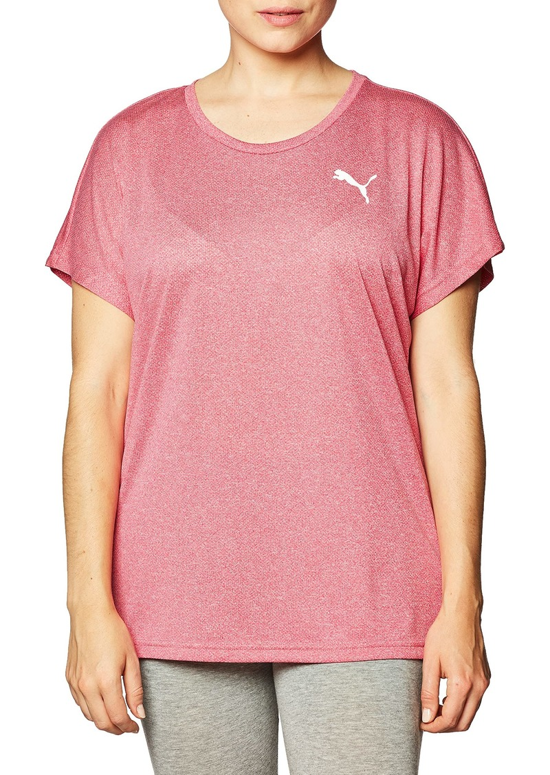 PUMA Women's Active Mesh T-Shirt  S