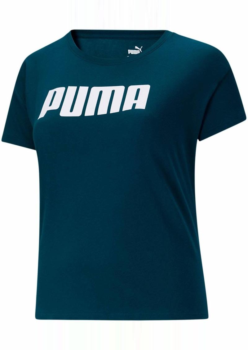 PUMA Women's Active T-Shirt Digi-Blue