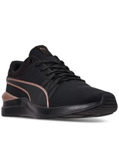 Puma Women's Adela Knit Effect Casual Sneakers from Finish Line