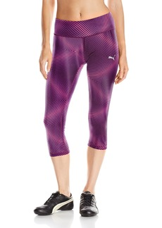 PUMA Women's All Eyes on Me 3/4 Leggings