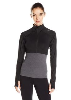 PUMA Women's All Eyes on Me Long Sleeve Crop Jacket Black/Solid