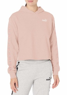 PUMA Women's Amplified French Terry Cropped Hoodie  XL