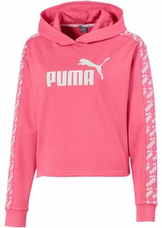 PUMA Women's Amplified French Terry Cropped Hoodie  M