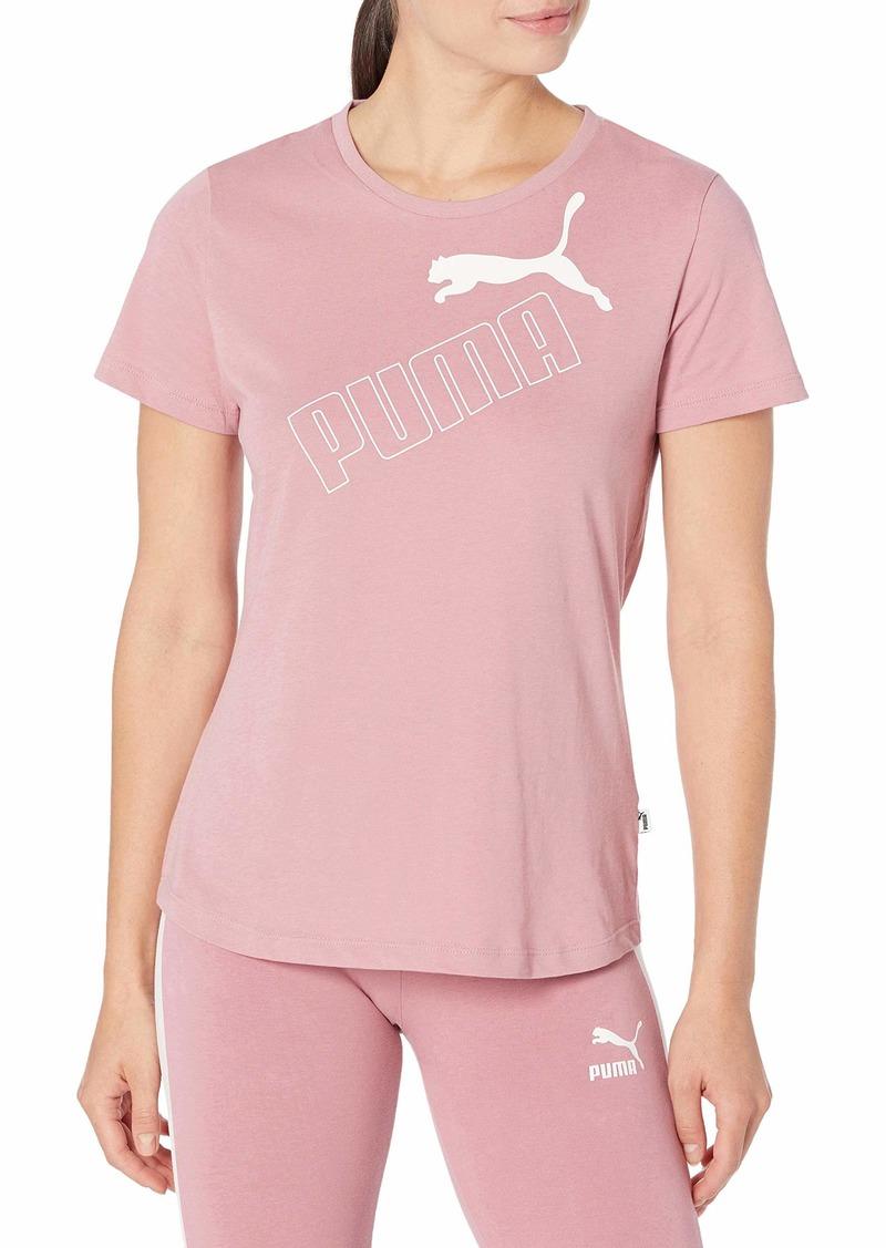 PUMA Women's Amplified T-Shirt  XS