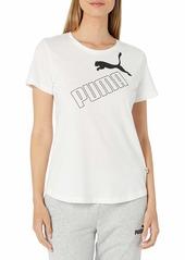 PUMA Women's Amplified T-Shirt White S