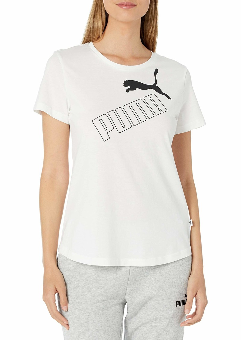 PUMA Women's Amplified T-Shirt White XS