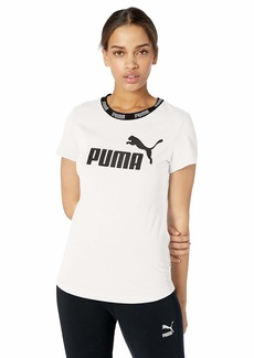 PUMA Women's Amplified T-Shirt White
