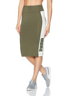 PUMA Women's Archive Logo Pencil Skirt  S