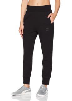 PUMA Women's Archive Logo Structured T7 Pants  L