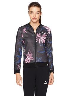 PUMA Women's Archive T7 Track Jacket Black XL