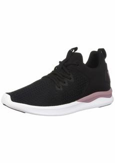 PUMA Women's Ballast MID Sneaker Black-Elderberry