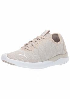 PUMA Women's Ballast Sneaker Silver Gray White  M US