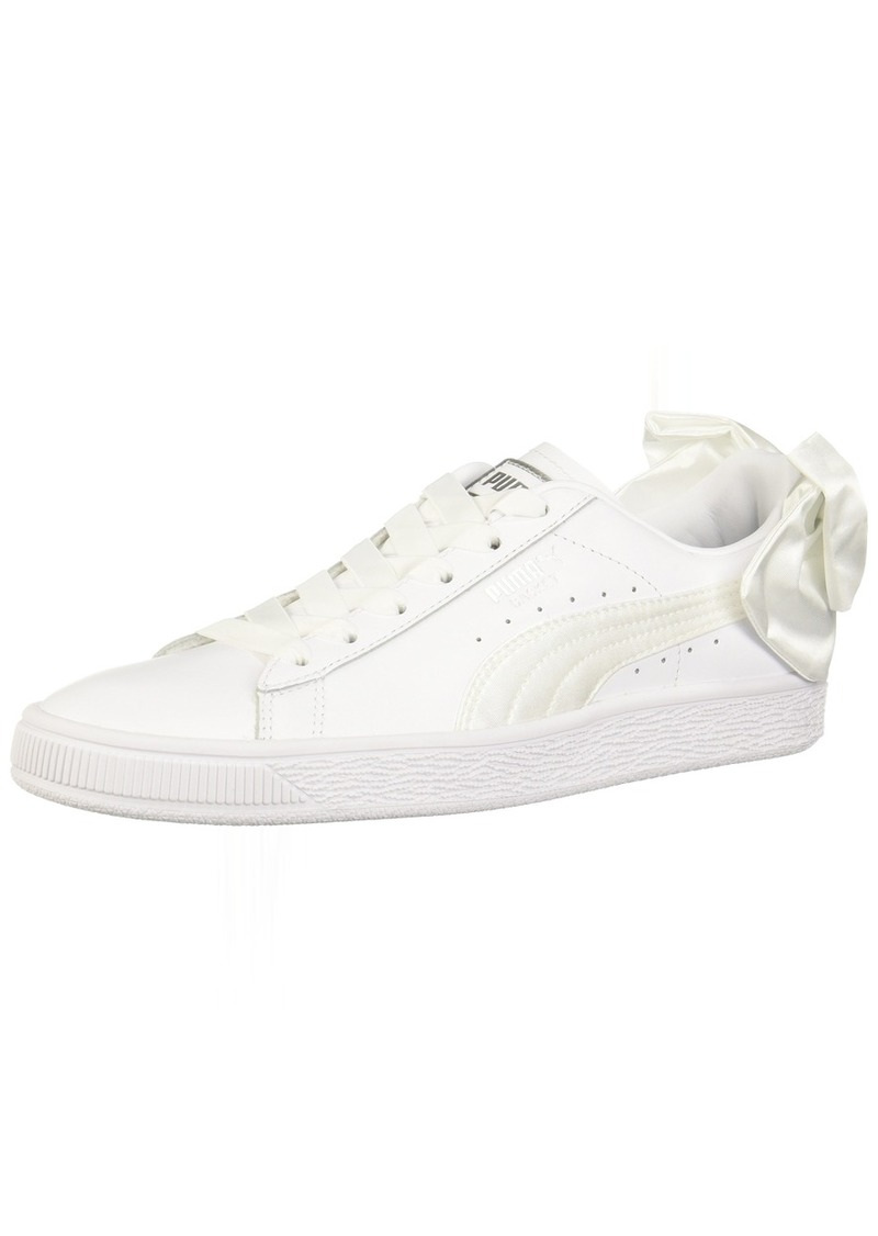 PUMA Women's Basket Bow Wn Sneaker   M US