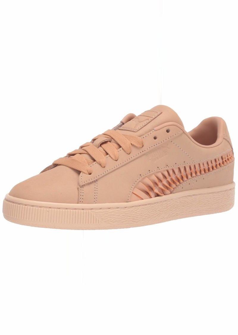 PUMA Women's Basket Crafted Sneaker Toast-Gum  M US
