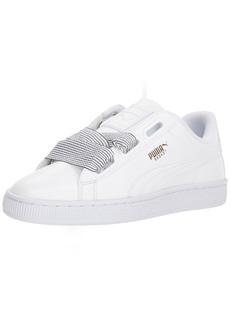 PUMA Women's Basket Heart Wn Sneaker White