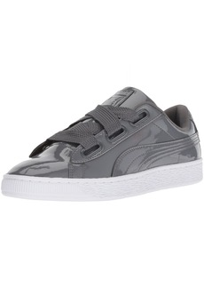 PUMA Women's Basket Heart WN's Sneaker Iron gate  M US