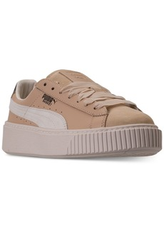 Puma Women's Basket Platform Up Casual Sneakers from Finish Line