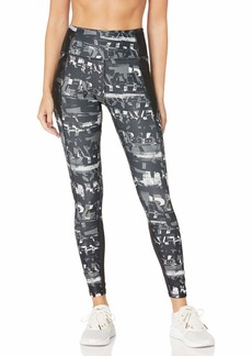 PUMA Women's Be Bold All Over Print 7/8 Tights Black