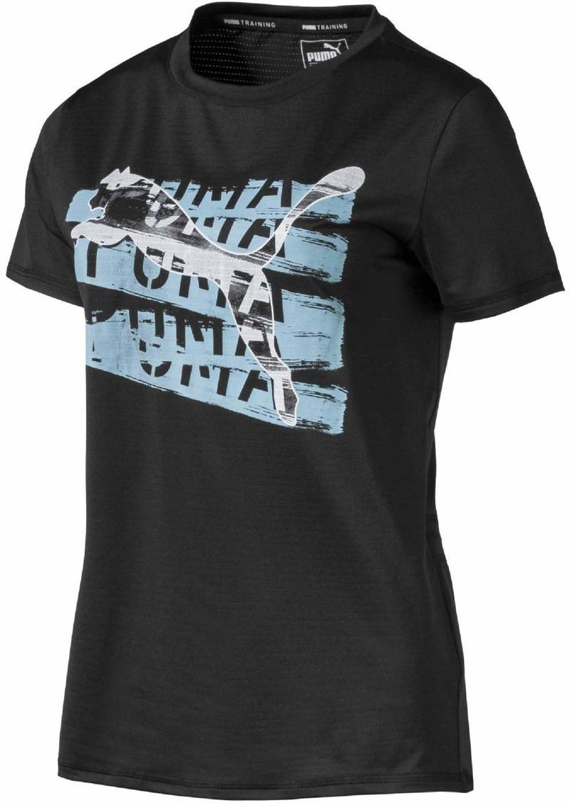 PUMA Women's Be Bold Graphic T-Shirt Black M