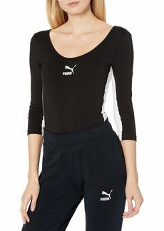 PUMA Women's Classics Body Suit Black S