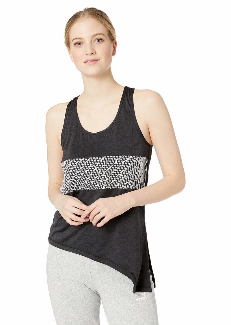 PUMA Women's Bold Tank Top Black Heather