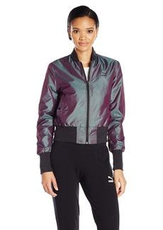 PUMA Women's Irridescent Bomber Jacket  M