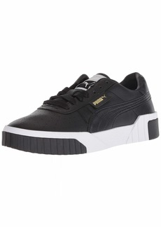 PUMA Women's CALI Sneaker Black White