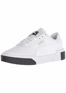 PUMA Women's CALI Sneaker White Black  M US
