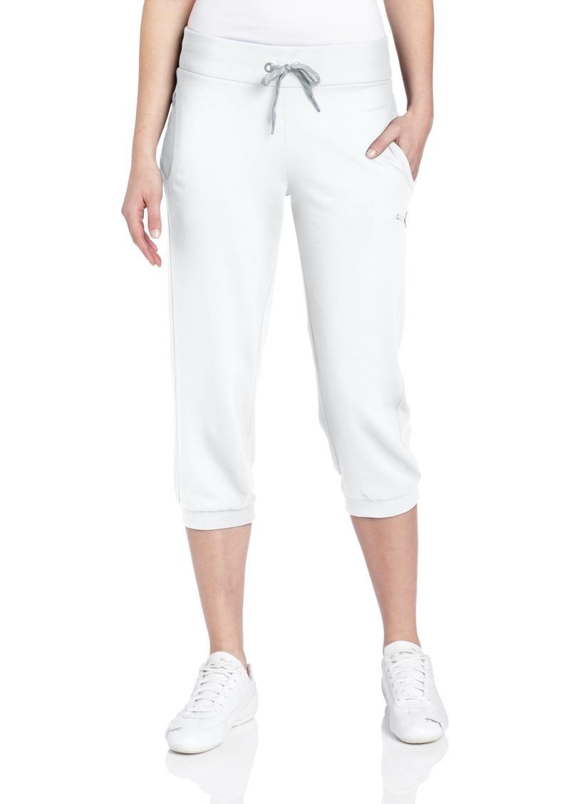 PUMA Women's Capri Sweat Pant