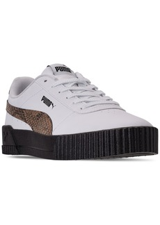 Puma Women's Carina Leo Casual Sneakers from Finish Line