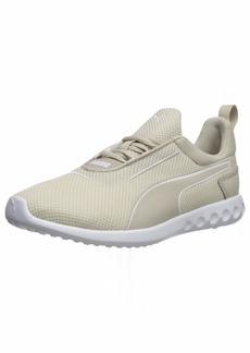 PUMA Women's Carson 2 Sneaker silver gray-puma white  M US