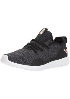 PUMA Women's Carson 2 X Knit Wn Sneaker Black-Periscope