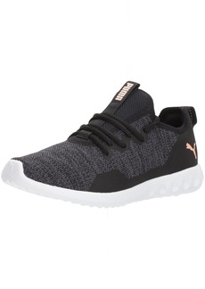PUMA Women's Carson 2 X Knit Wn Sneaker Black-Periscope  M US