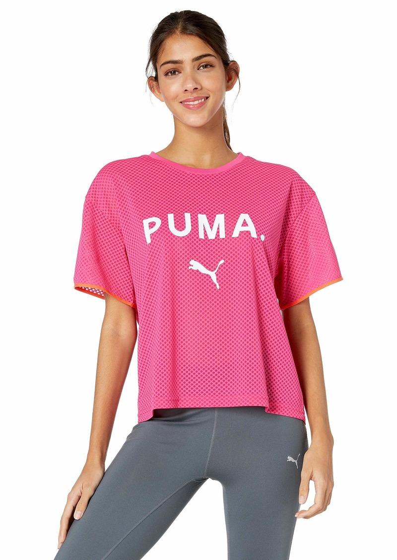 PUMA Women's Chase Mesh T-Shirt  M