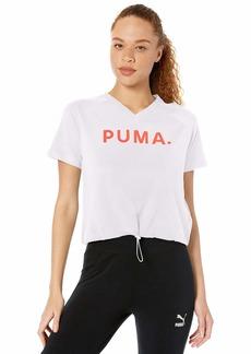 PUMA Women's Chase V Tee White XL