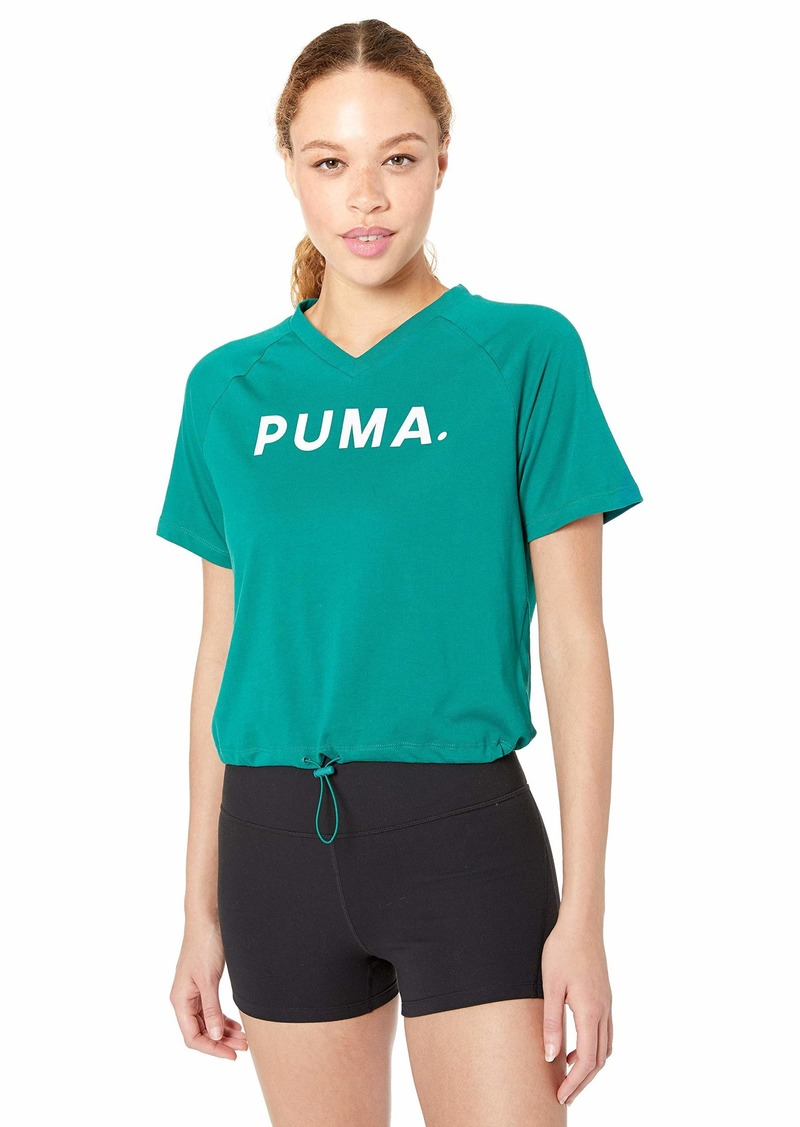 PUMA Women's Chase V-Neck T-Shirt  XL