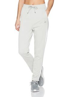 PUMA Women's Classics Logo Pants White S