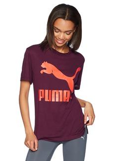 PUMA Women's Classics Logo T-Shirt  XS