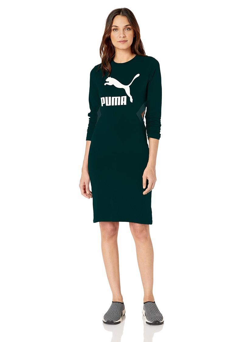PUMA Women's Classics Logo Tight Dress  L