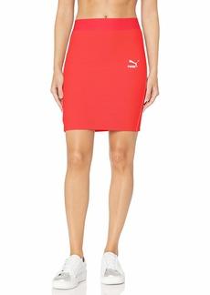 PUMA Women's Classics Rib Skirt  S